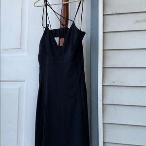 Express black dress with spaghetti straps, size 10